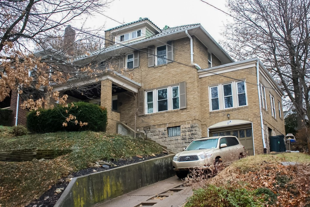 214 Arden Road, Mt. Lebanon, PA is for sale.